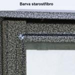Barva urnového rámečku starostříbro