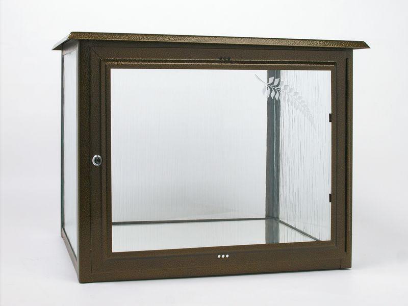 Skříň na dvě urny š490 x h290 x v360 mm v barvě starozlato