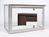 Skříň na tři urny v barvě staroměď š650 x h290 x v360 mm