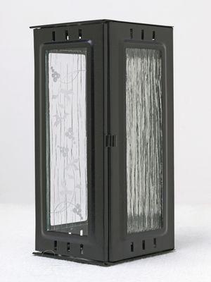 Nerezové výrobky na zakázku Svítilna závěsná velká, černá 100 x 100 x 220 mm OEM Český výrobek.