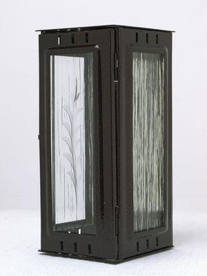 Nerezové výrobky na zakázku Svítilna závěsná velká, starozlato 100 x 100 x 220 mm OEM Český výrobek.