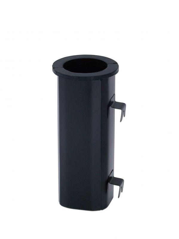 Váza černá závěsná obdelníková