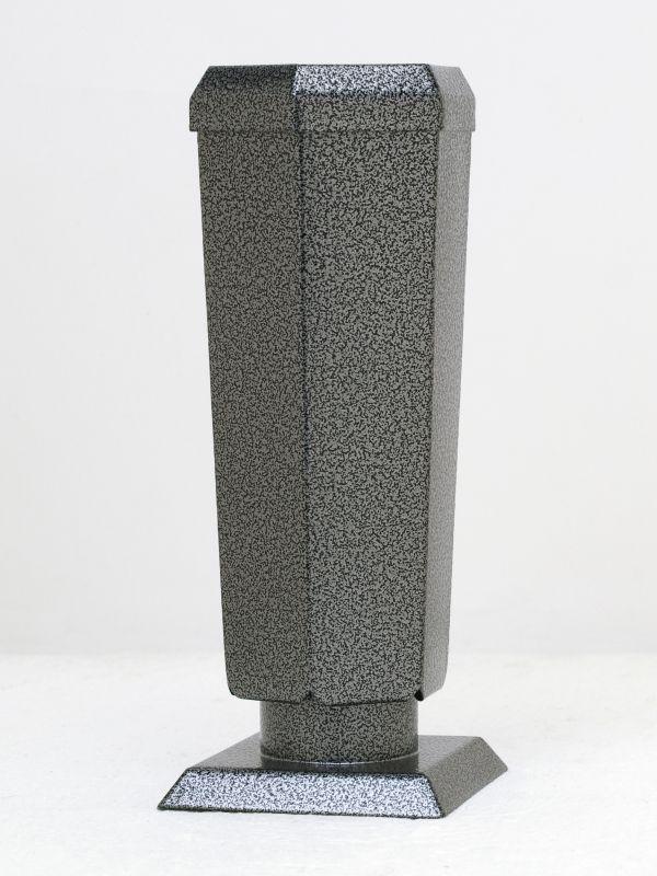 Váza starostříbro šestihranná konická